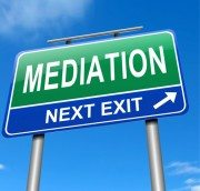 Mediation Highway Sign